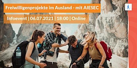 Freiwilligenprojekte im Ausland - mit AIESEC Tickets