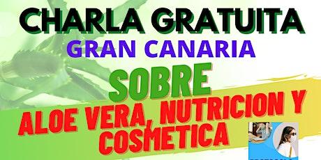 CHARLA GRATUITA, DE ALOE VERA, NUTRICION Y COSMETICA entradas