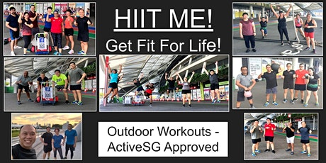 Sat 8am -HIIT/Functional Fitness with Weights - Outdoor ActiveSG approved tickets