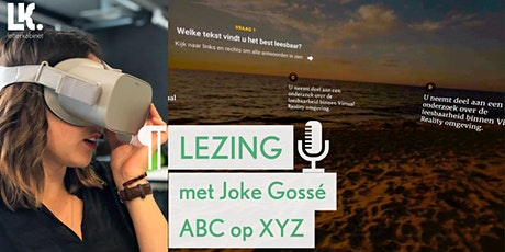 'ABC op XYZ' lezing met Joke Gossé tickets