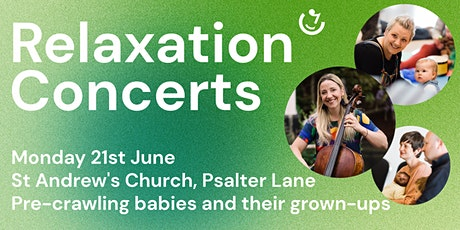 Relaxation Concerts | 21st June: Polly Ives (cello) tickets