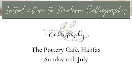 Introduction to Modern Calligraphy - The Pottery Cafe, Halifax tickets