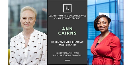 In Conversation With Ann Cairns, Executive Vice Chair at Mastercard tickets