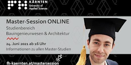 Master Session Online - Architektur tickets