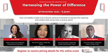 Harnessing the Power of Difference tickets