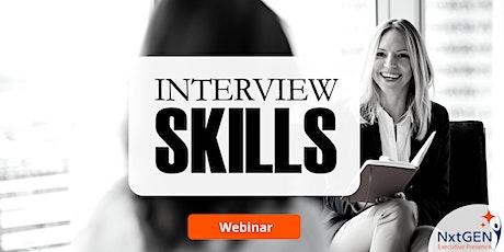 Interview Skills tickets