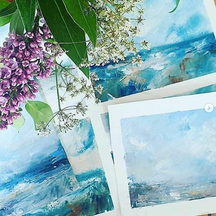 Landscape Painting Workshop - Big Skies image