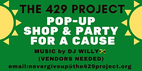 THE 429 PROJECT  POP-UP SHOP & PARTY FOR A CAUSE tickets