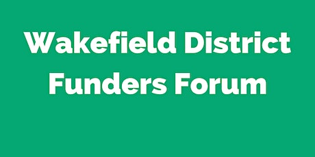 Wakefield District Funders Forum tickets