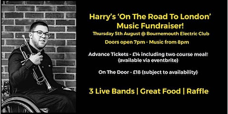 Harry's 'On the Road to London' Music Fundraiser! tickets