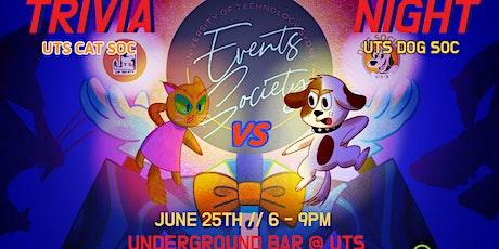 Catsoc vs Dogsoc Trivia ft Event Soc tickets