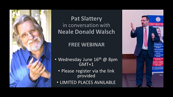 Pat Slattery In Conversation With Neale Donald Walsch image