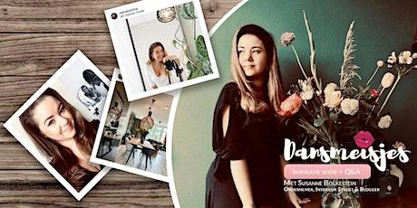 Gratis Online Womentalk inspiratiesessie + Q&A met Susanne Bolkestein tickets