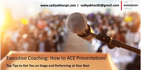 How to ACE presentations tickets