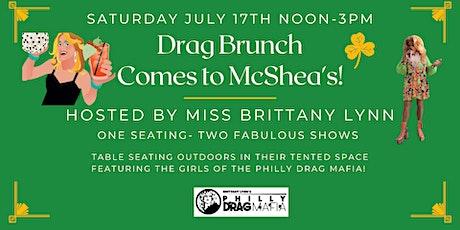 Drag Brunch at Mcshea's tickets