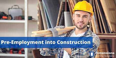 Preparing for work in Construction and Warehousing tickets