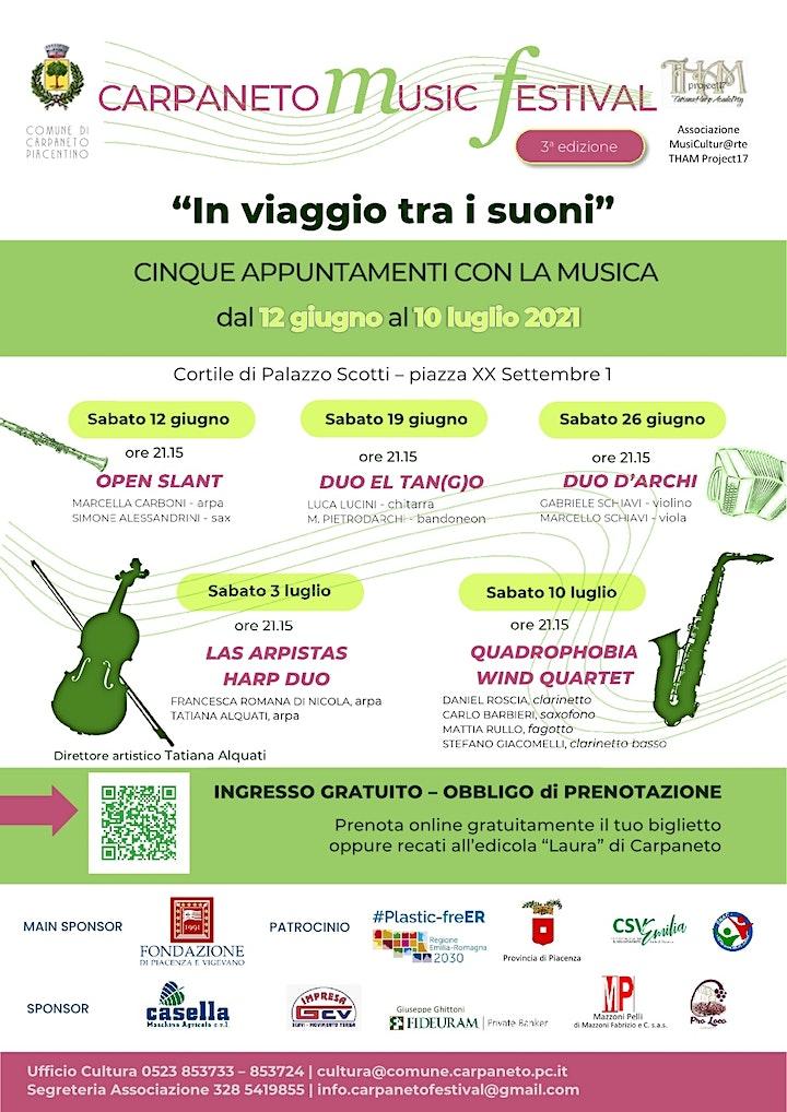 Immagine Carpaneto Music Festival 2021 - Concerti giugno e luglio 2021