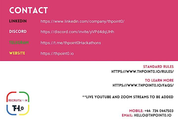 RecruitaTh.0n 2021 – Virtual Hackathon image