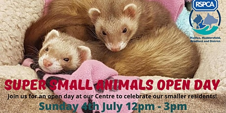 RSPCA Super Small Animals Open Day tickets