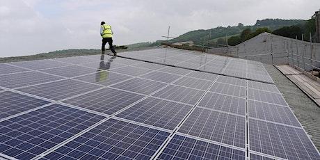 Community Solar - Free Solar Power Installation for Business Premises biglietti