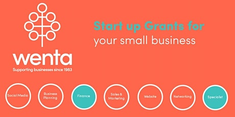 Start Up Grants for your Small Business tickets