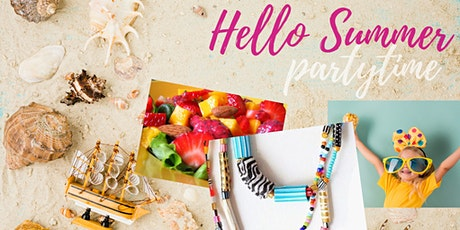 HELLO SUMMER PARTY! (all ages, fam) ALL our teachers, in ESZTER'S CLASSROOM tickets