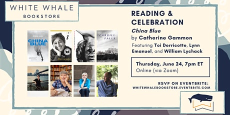 """Reading: """"China Blue,"""" Catherine Gammon w/ Derricotte, Emanuel, Lychack tickets"""