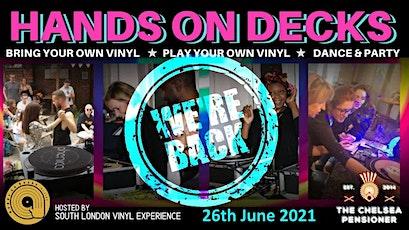 """SLVE Presents """"Hands on Decks"""" tickets"""