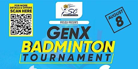 GenX Badminton Tournament tickets