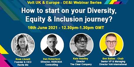 How to start on your Diversity, Equity & Inclusion journey? tickets