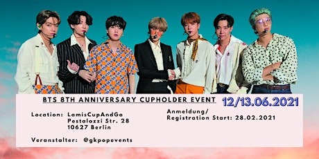 BTS 8th Anniversary Cupsleeve Event Berlin Tickets
