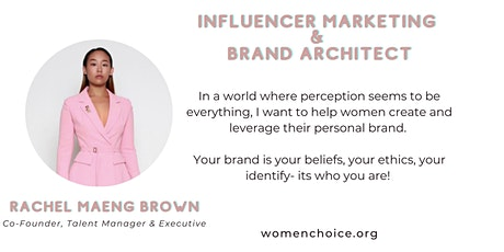 Influencer Marketing & Brand Architect tickets
