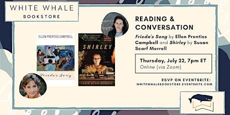 Reading & Conversation: Ellen Prentiss Campbell and Susan Scarf Merrell tickets