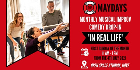 'IN REAL LIFE' Monthly Musical Improv Comedy Drop-In – Brighton tickets