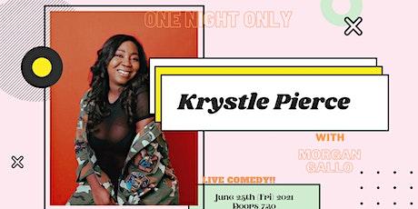 One Night Only:  Krystle Pierce tickets