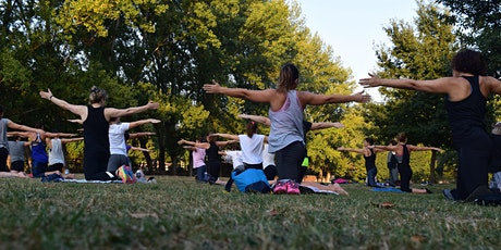 Free Yoga class in the Memorial Gardens tickets