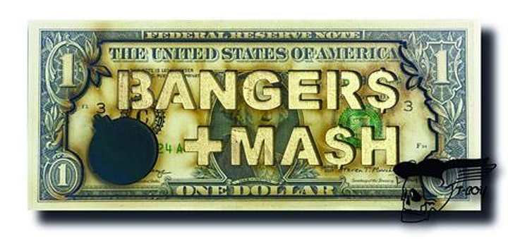 Bangers & Mash Solo Exhibition Opening Night image