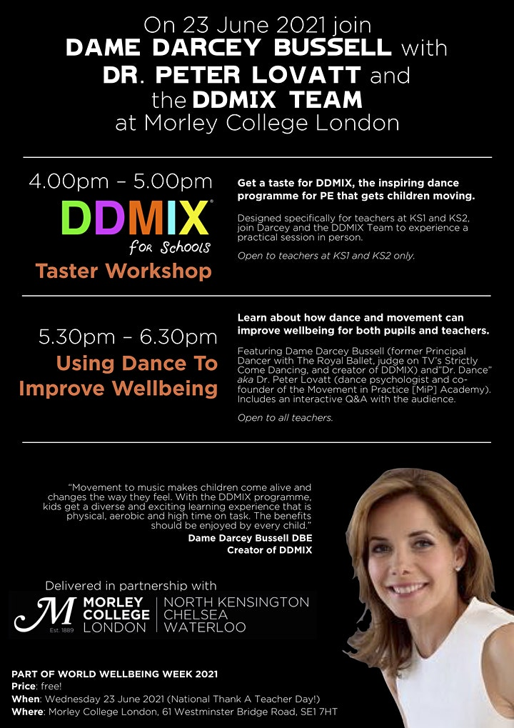 Using Dance To Improve Wellbeing Talk and Q&A image