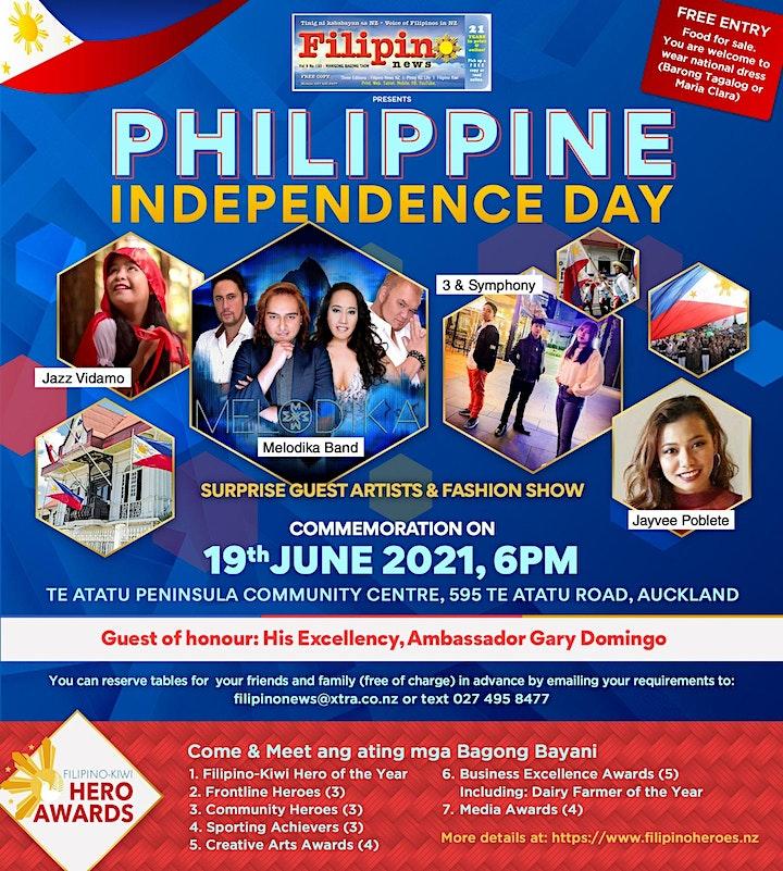 Philippine Independence Day  &  Filipino-Kiwi Hero Awards 2021, Auckland image
