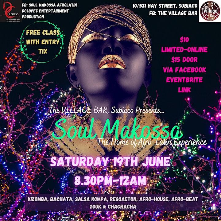 Soul Makossa at The Village Bar image