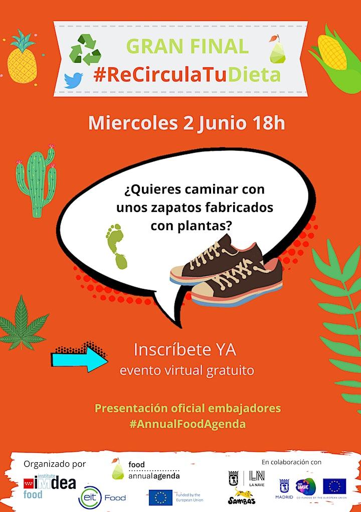 Imagen de ¿Quieres caminar con unos zapatos fabricados con plantas? #ReCirculaTuDieta