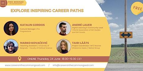 Explore Inspiring Career Paths tickets