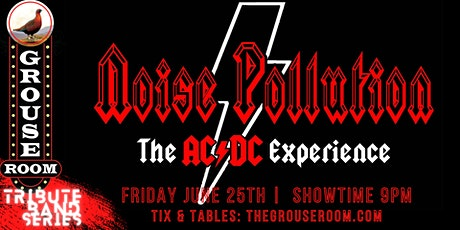 TRIBUTE BAND SERIES: Noise Pollution: A Tribute to AC/DC tickets