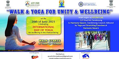 Walk & Yoga for Unity & Wellbeing tickets