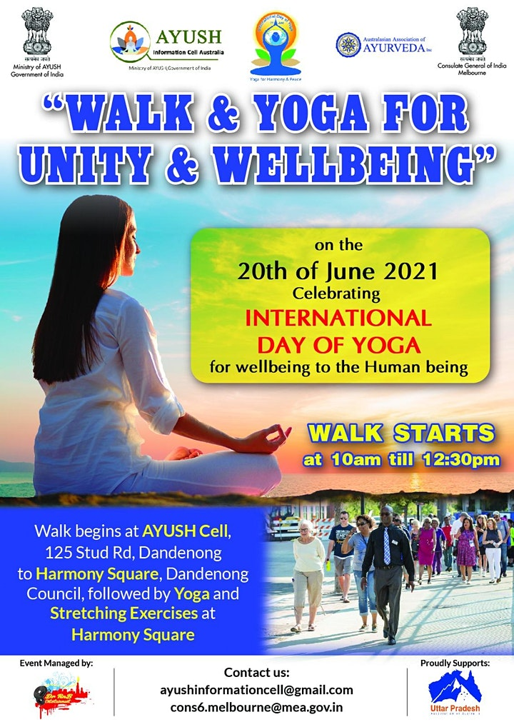 Walk & Yoga for Unity & Wellbeing image