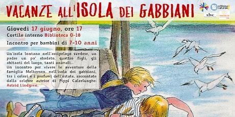 Vacanze all'isola dei gabbiani (7-10 anni) biglietti