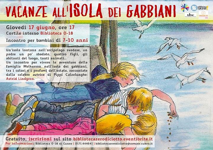 Immagine Vacanze all'isola dei gabbiani (7-10 anni)
