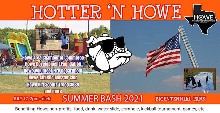 Hotter 'N Howe Summer Bash 2021 image