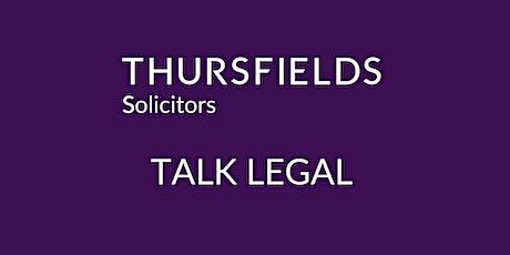 Thursfields Talk Legal  - Commercial Premises tickets