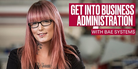 Get into Business Administration with BAE Systems tickets